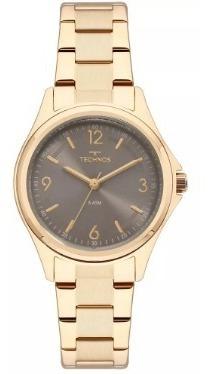 Relógio Technos Feminino Dourado - 2035mni/4c Novo