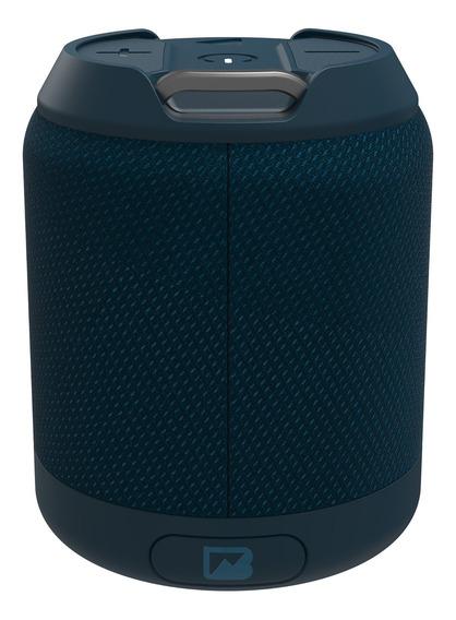 Bocina Portátil Brv-mini Waterproof Con Bluetooth Azul