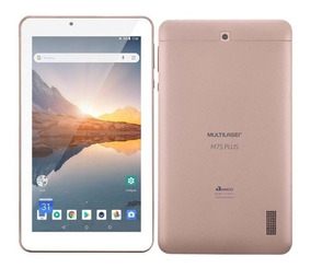 Tablet Tela Ips 7 Pol Rosa M7s Plus 16gb + Cartão Sd 32gb