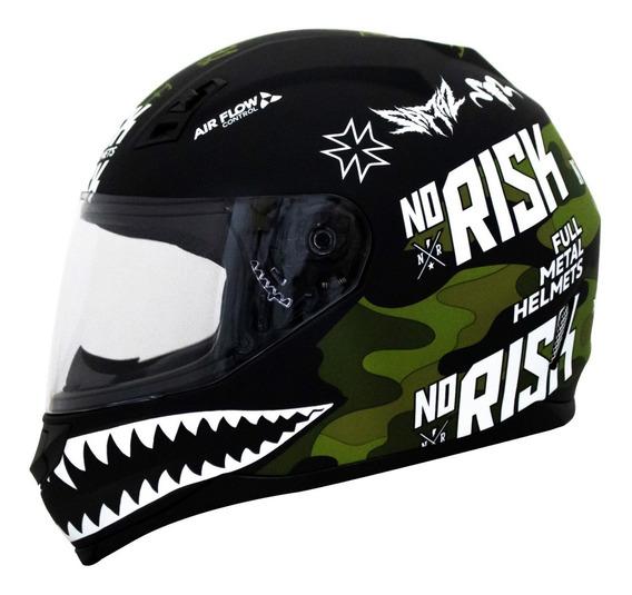 Capacete Norisk Ff391 Ride Hard Fosco