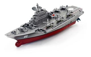 Navio De Guerra - Battleship/aircraft - Rc - Pronta Entrega.