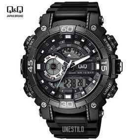 Reloj Deportivo Hombre Q&q Militar Casual Acuatico Shock Q Q