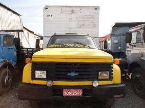 Chevrolet D12000 , Amarelo, Turbinado, 1987/1988