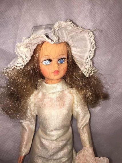 Boneca Susi Antiga Da Estrela Noiva