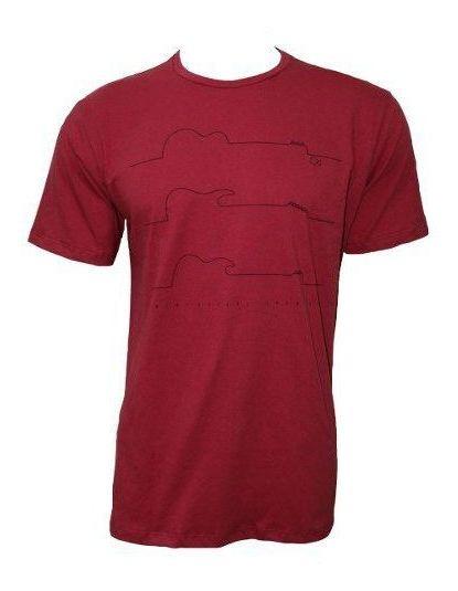Camiseta Ogochi Masculina Vermelha 006414013