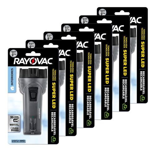 Imagem 1 de 8 de 06 Lanternas Interiores Super Led Mini Rayovac