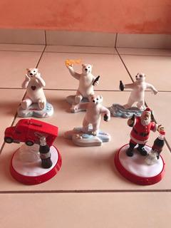 Osos Polares Navideños - Decorín Navideño Coca Cola