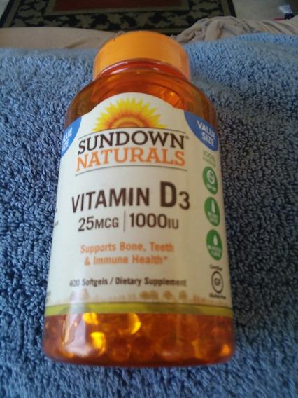 Vitamina D3, Marca Sundown