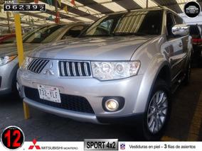 2012 Montero Sport 4x2 Con 62,000 Km ...piel, 3 Filas...