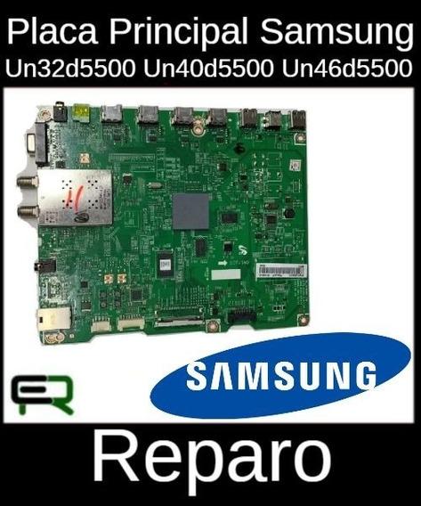Placa Principal Samsung Un32d5500 Conserto