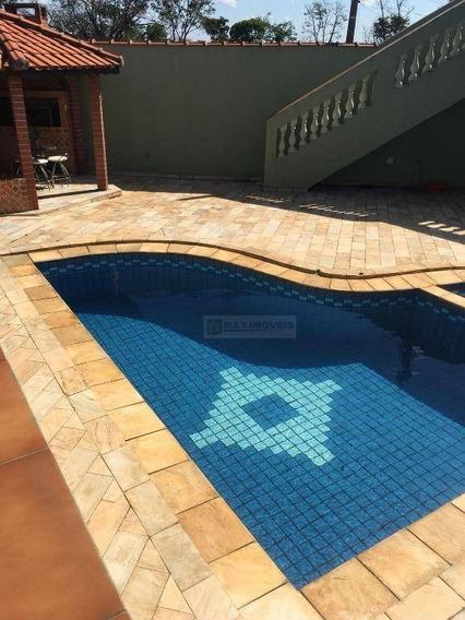 Casa Residencial À Venda, Jardim Alvinópolis, Atibaia. - Ca0201