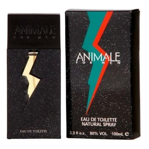 Perfume Animale Eau De Toilette Masculino 100ml Original