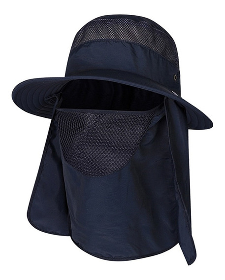 Sombrero Para El Sol Gorra Con Proteccion Para Cuello Y Cara