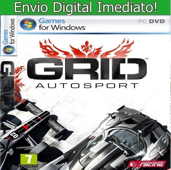 Grid Autosport Pc Hd Envio Imediato.