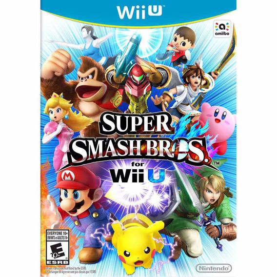 Wii U - Super Smash Bros - Americano - Pronta Entrega