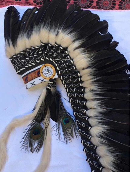 3 Cocar Indígena Americano Frete Grátis !!!!!!