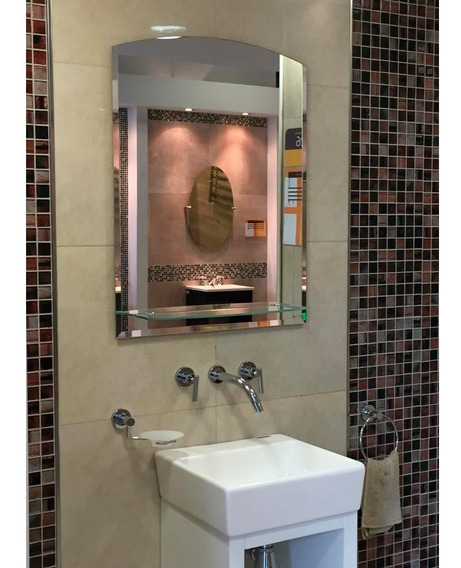 Espejo Reflejar Ready 5 Estante Baño 80x60 Sin Interes