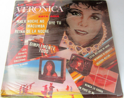 Veronica Castro - Lo Mejor De Veronica Esta Aqui Nuevo Lp