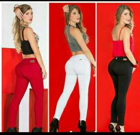 Pantalones Drill Stech Para Dama Faja Aplana El Vientre