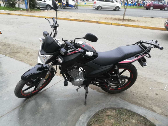 Yamaha Ybr125z Negra C/rojo