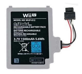 Batería Para Gamepad De Wiiu 1500mah - Mundoplaystation