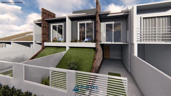 Casa Para Venda Em Araucária, Porto Das Laranjeiras, 3 Dormitórios, 1 Suíte, 3 Banheiros, 2 Vagas - Ca0564_2-1070805