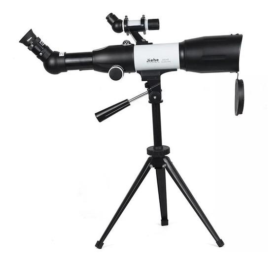 Telescopio Profissional Astronomico Refletor 350x60mm Jiehe