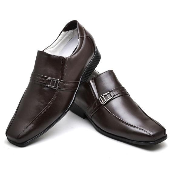 Sapato Confort Pele De Carneiro Ranster - 05c Café +barato
