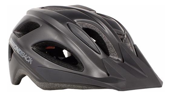 Trace Casco Para Bicicleta L Negro Mate Db-88-32-201