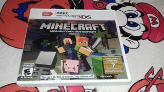 Minecraft New Nintendo 3ds Edition Funcionando Bien.
