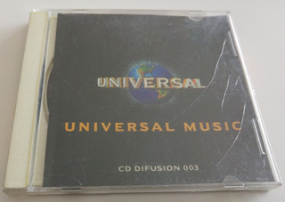 Cd Universal Music Difusion 003