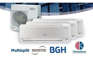 Aire Multisplit Bgh Inverter 9000 + 4500+4500 F/c