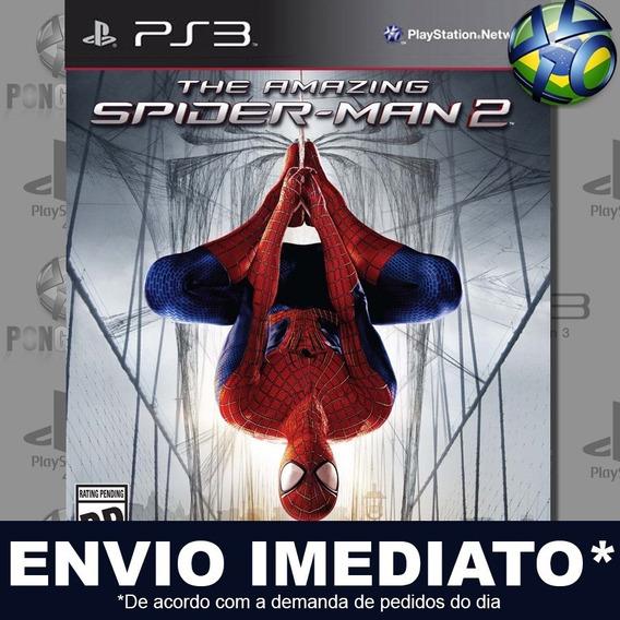 The Amazing Spider Man 2 Ps3 Psn Legendado Português Pt Br