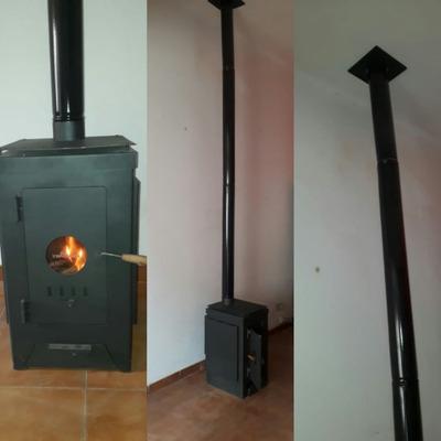 Instalacion De Salamandra Tromen, Ñuke, Todas Las Marcas