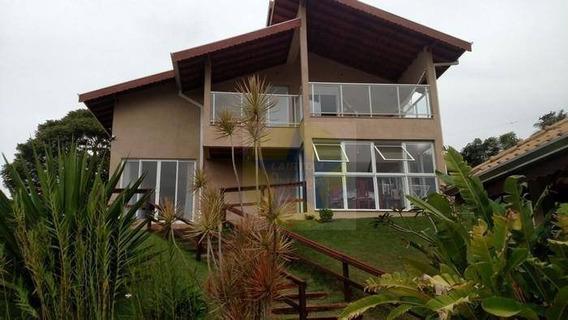 Belíssima Casa Em Condomínio Fechado - Frente Para Represa,piracaia - Ch1021. - Ch1021