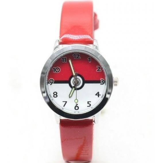 Relógio De Pulso Pokéball Feminino Pokémon Pikachu Unidade