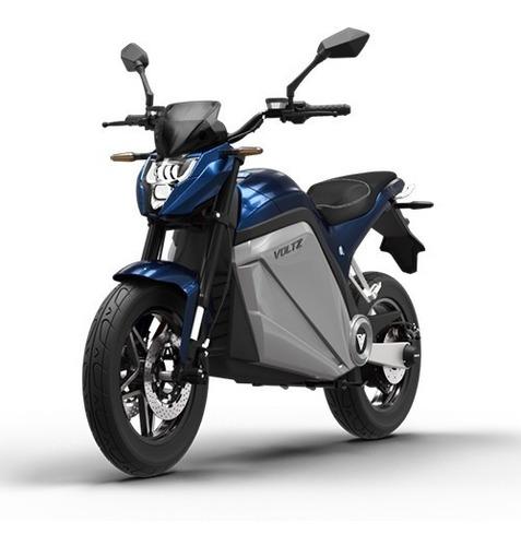 Imagem 1 de 10 de Moto Elétrica Evs Voltz Motors Azul - Uma Bateria