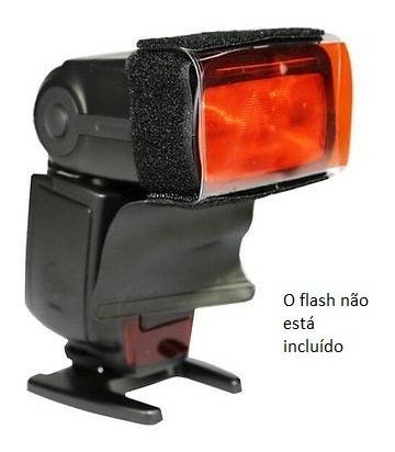 Gelatina Colorida Flash Speedlite 12 Cores Fotografia Studio