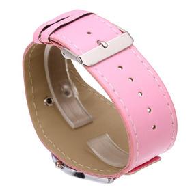 Relógio Infantil Adulto De Pulso Hello Kitty - Rosa