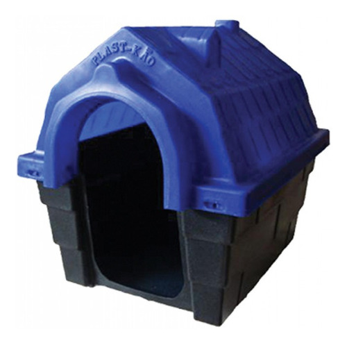 Casinha Para Cães Plastikão  Número 3 Azul
