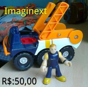 Carro Imaginext Resgate Com Boneco Foto Real