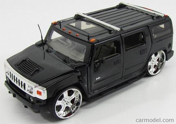 Hummer H2 Preto 1:24 Jada