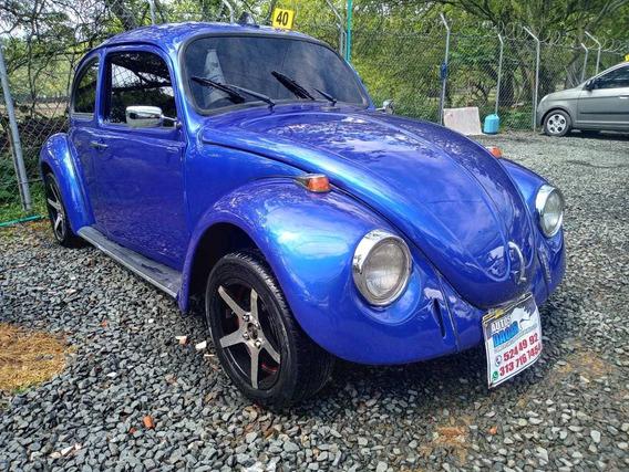 Volkswagen Escarabajo 1.3 2007 Azul Plata 3 Puertas