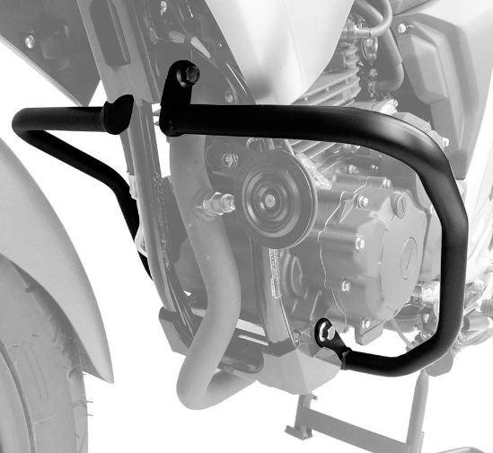 Protetor Motor Yamaha Fz25 250 Fazer Após 2018 Mata Cachorro
