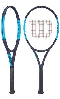 Raqueta Wilson Ultra 100 Cv + Cuerda +c.grip + Antivibrador