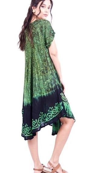 Solero Vestidos Amplios Mujer Frescos Talle Grande Importado