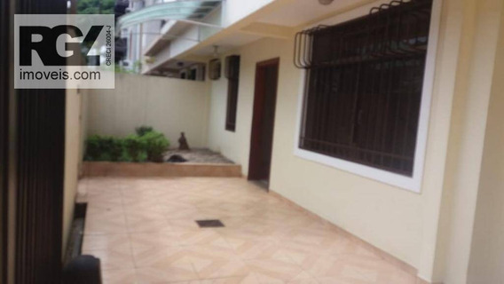 Casa Para Alugar, 137 M² Por R$ 4.000,00/mês - Ponta Da Praia - Santos/sp - Ca0603