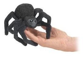 Finger Puppets, Fantoches De Dedos, Dedoches. Aranha.