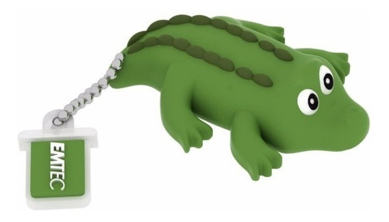 Pen Drive Flash Drive Emtec Videolar Jungle Crocodile 8gb