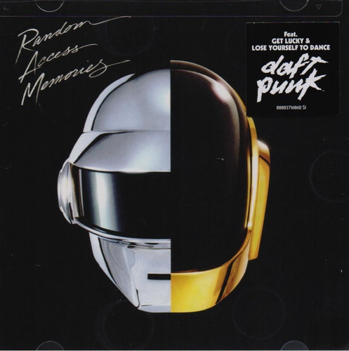 Random Access Memories - Daft Punk - Disco Cd - Nuevo